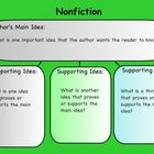 Nonfiction Comprehension Graphic Organizer