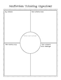 Nonfiction Graphic Organizer for Reading or Content Areas