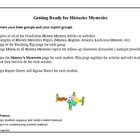 Nonfiction History Mystery Jigsaw Activity