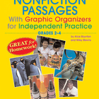 Nonfiction Passages with Graphic Organizers Grades 2-4