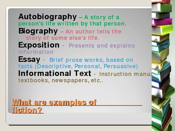 Nonfiction PowerPoint