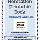 Nonfiction Rainforest Book