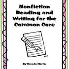 Nonfiction Reading and Writing Unit