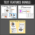 Nonfiction Text Features Activities {$ Saving Bundle}