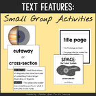 Nonfiction Text Features Activities {Small and Whole Groups}