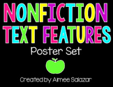Nonfiction Text Features Posters {Free!}