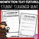 Nonfiction Text Features Student Scavenger Hunt