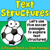 Nonfiction Text Structure Powerpoint: Complete Introductio