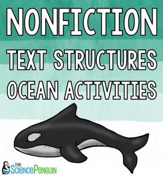 Nonfiction Text Structures Ocean Activities