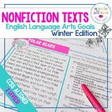 Nonfiction Texts with English Language Arts Targets {Winte