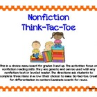 Nonfiction Think-Tic-Tac-Toe