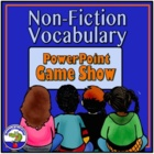 Nonfiction Vocabulary You Should Know Game Show PowerPoint