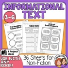 Nonfiction Worksheets and Projects, Use with Most NF Books