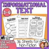 Nonfiction (Informational Text) Printables and Projects, U