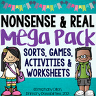 Nonsense & Real Word CVC Mega Pack
