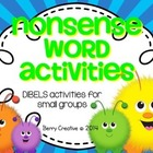 Nonsense Word Activities~DIBELS Interventions