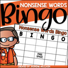Nonsense Word Bingo-Nonsense Word Practice
