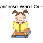 Nonsense Word Cards Dibels and Dibels Next Practice