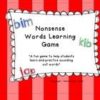 Nonsense Word Practice Game