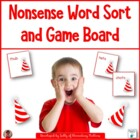 Nonsense Word Sort and Game Board