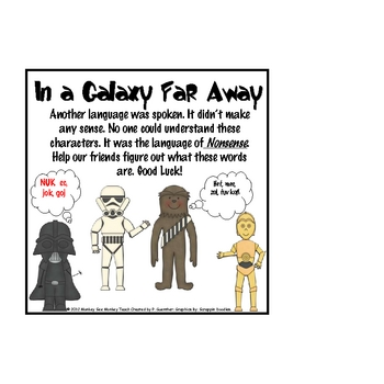 Nonsesnse Words  (Galaxy Far Away) Theme