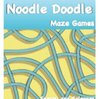Noodle Doodle Maze Games