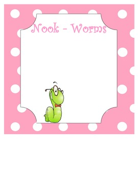 Nook Worms: Schedule sign for e-readers in your classrom