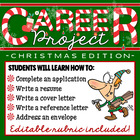 North Pole/Christmas Career Project & Activities (job sear