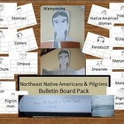 Northeastern Woodlands Native American Bulletin Board Pack
