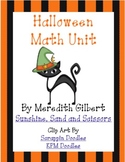 Not So Spooky Halloween Math Unit
