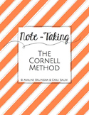 Beginning of the Year Note Taking - CORNELL METHOD - Lesso