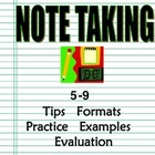 Note Taking Program 5-9: Intro, Sample Formats,Practice, E