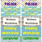 Notebook & Folder Labels