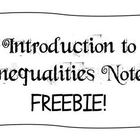 Notes - Introduction to Inequalities