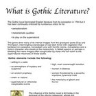 Notes on Gothic Literature