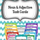 Noun & Adjective Task Cards