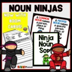 Noun Ninjas: Learning about nouns!