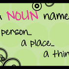 Noun Poster ~ A Person, A Place, A Thing