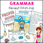 Noun Revision Pack - 13 pages of worksheets and games on P