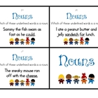 Noun Task Cards - 31