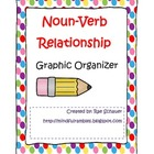 Noun Verb Relationship Graphic Organizer Packet