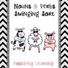 Noun and Verbs Swinging Sort!