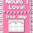 Nouns I LOVE - Tree Map