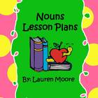 Nouns Lesson Plans (5 days)