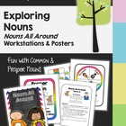 Nouns - Nouns All Around: Exploring Nouns - Learning Cente