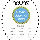 Nouns Pack - Nouns, Proper Nouns, and Pronouns