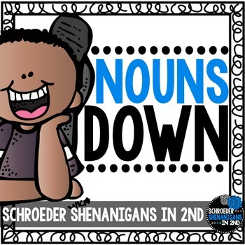 Nouns Pack - Singular, Plural, Common, Proper, and Collective noun activities