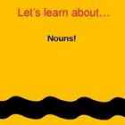 Nouns Presentation &amp; Activities