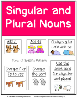 Nouns-Singular and Plural Unit