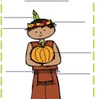 Nouns, Thanksgiving Noun Labeling Activity